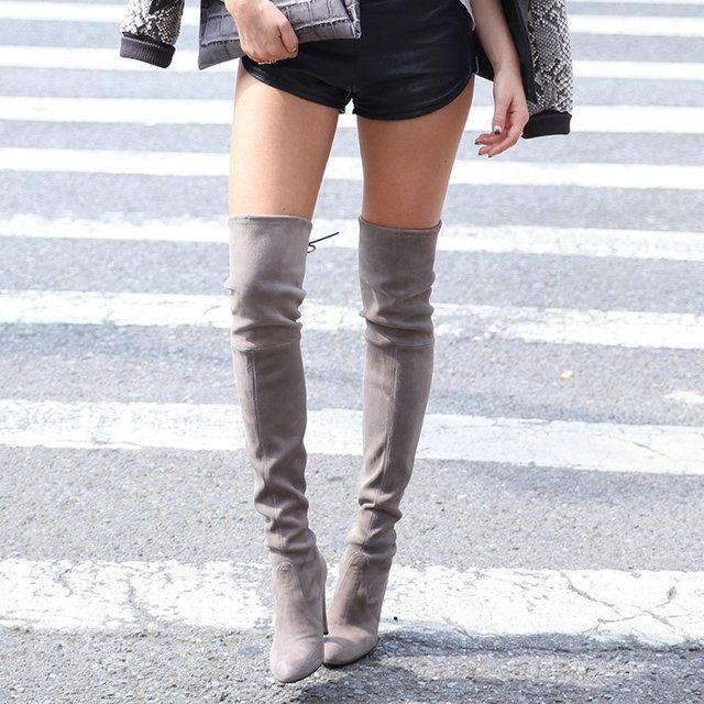 From $440 Stuart Weitzman Over-the-Knee Boots On Sale @ MYHABIT