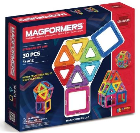 Magformers Rainbow 30 Piece Set @ Amazon