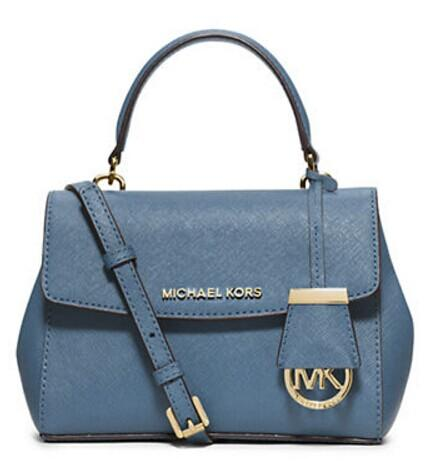 MICHAEL MICHAEL KORS Ava Leather Crossbody Satchel Bag @ Lord & Taylor