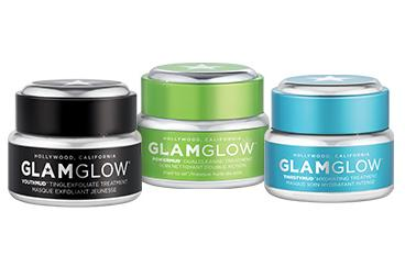 GLOW ON THE GO kit for $39($66 value) + Free 15g FLASHMUD Tube + Free Shipping + 2 Free Samples @ Glamglow