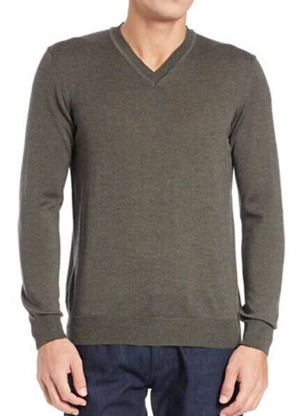 BLACK BROWN 1826 Merino Wool Knit Sweater @ Lord & Taylor