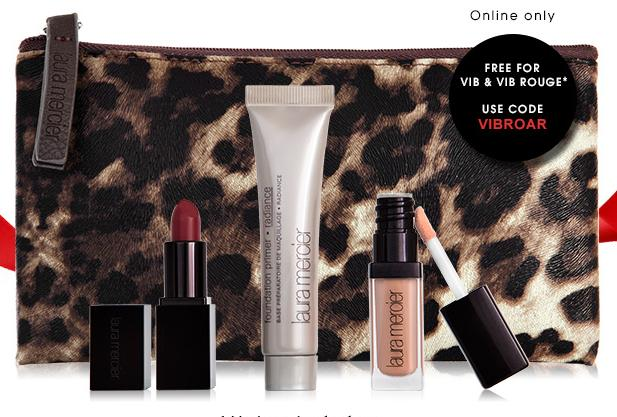 Free Laura Mercier 3-piece gifts with any $35 purchase @ Sephora.com