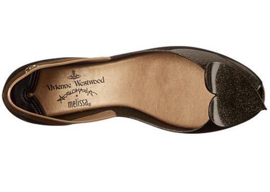Vivienne Westwood Anglomania + Melissa New Queen Women Flat On Sale @ 6PM.com