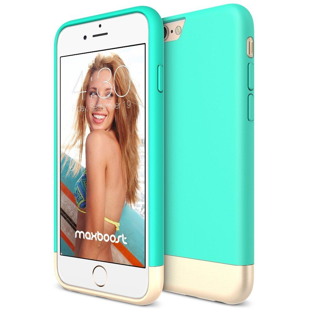 Maxboost Protective Slider Case SOFT-Interior Scratch Protection Finished Hard Case For iPhone 6 / 6S