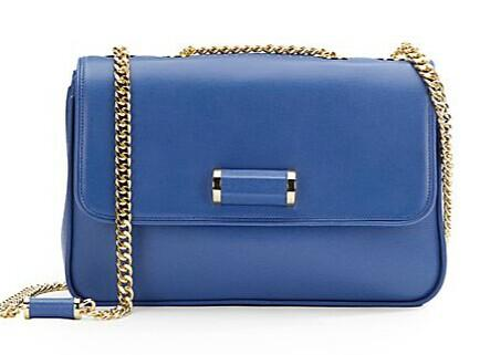 Ivanka Trump Jumbo Classic Leather Shoulder Bag @ Saks Off 5th