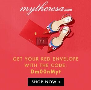 Free surprise red envelope Chinese New Year Sale @ Mytheresa