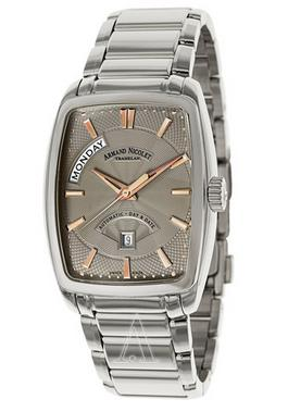 Armand Nicolet Men's TM7 Day & Date Watch 9630A-GS-M9630