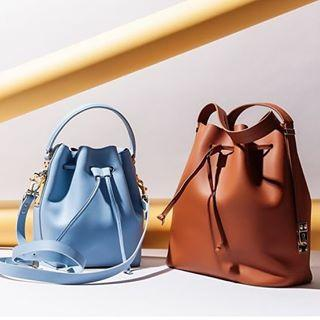 Sophie Hulme Extendable matte-leather bucket bag