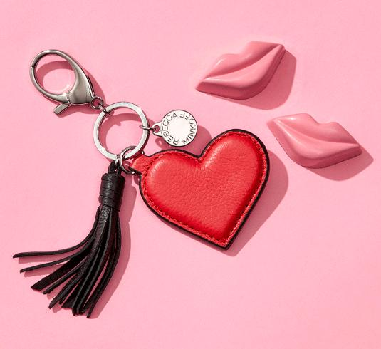 Free Heart-Shoped Key Fob with any $150 Purchase @ Rebecca Minkoff