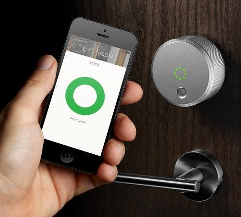$149.99 August Smart Lock - Keyless Home Entry with Your Smartphone