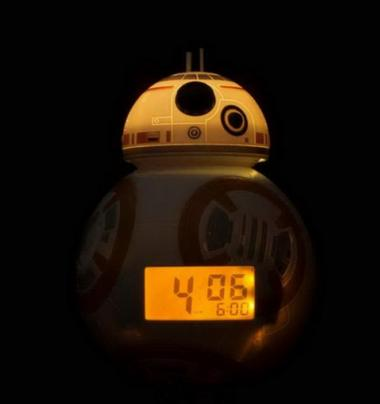 Star Wars The Force Awakens BB-8 Alarm Clock by Bulb Botz