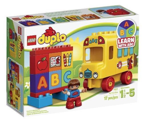LEGO DUPLO My First 10603 Bus Building Kit @ Amazon