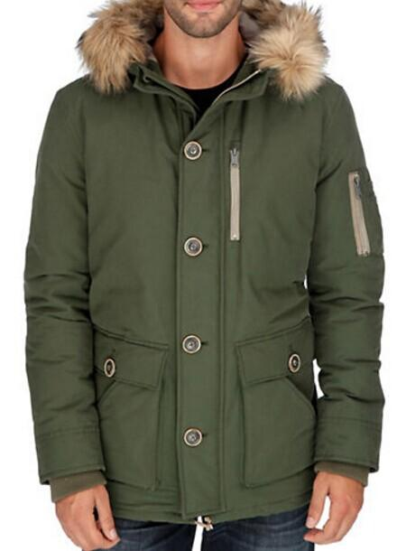 LUCKY BRAND Faux Fur-Trimmed Parka @ Lord & Taylor