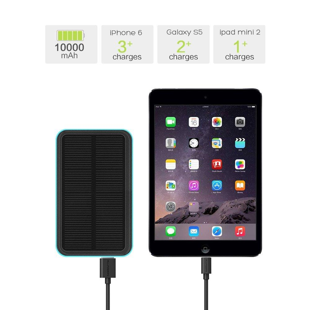 ALLPOWERS™ 10000mAh Solar Battery Charger with iSolar™ Technology for iPhone