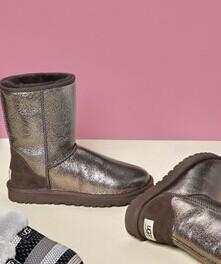 UGG® 'Classic Short - Metallic' Boot @ Nordstrom