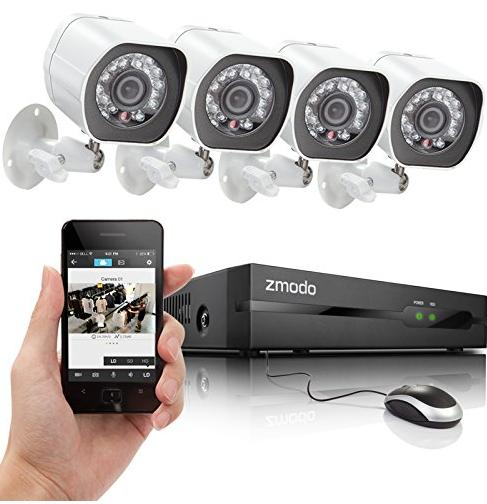 Up to 45% Off Select Zmodo Security Systems @ Amazon.com