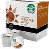 $6.99 K-cups from Starbucks, Donut Shop, Cinnabon, Gloria Jean's or Caribou & More