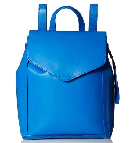 LOEFFLER RANDALL Small Drawstring Backpack, Electric Blue On Sale @ MYHABIT