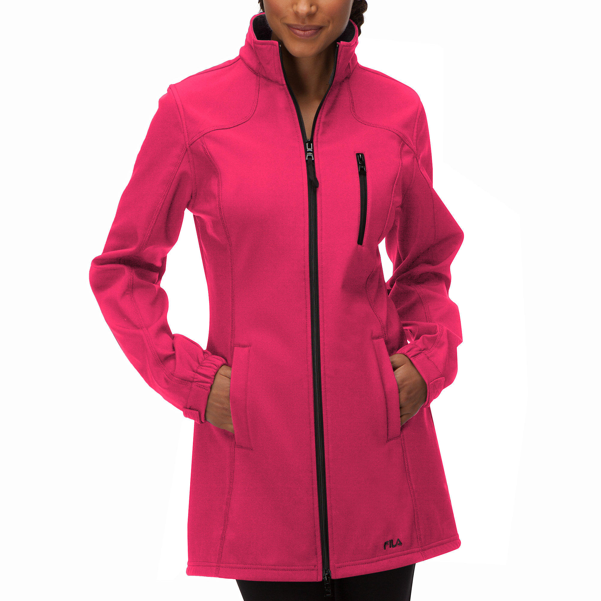 FILA Women's Venture Long Bonded Jacket