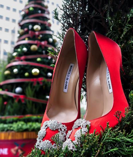 Up to $500 Gift Card with Manolo Blahnik Shoes Purchase @ Neiman Marcus