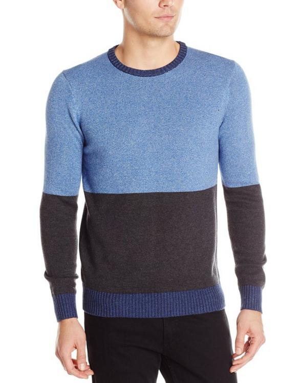 Levi's Men's Diaz Color-Block Crew Sweater