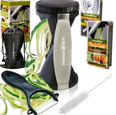 Premium Vegetable Spiralizer Bundle @ Amazon