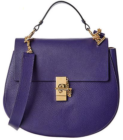 Chloé Drew Medium Leather Crossbody @ Rue La La