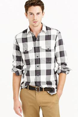 Extra 40% Off Men's Shirt @ J.Crew