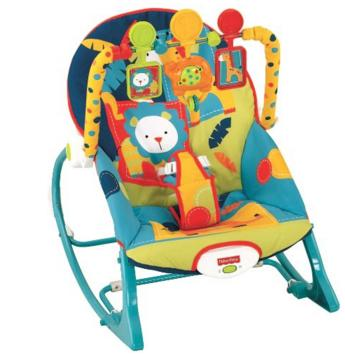 Fisher-Price Infant To Toddler Rocker, Dark Safari @ Amazon