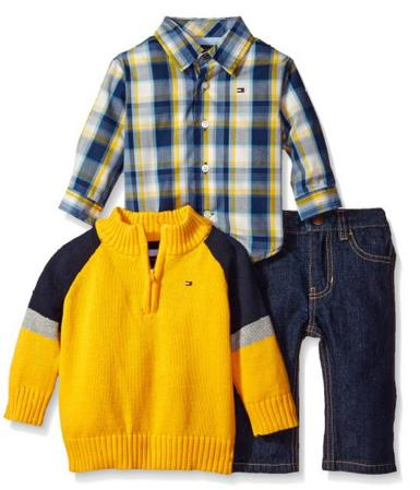 Up to 70% Off Tommy Hilfiger Baby Boy Clothing @ Amazon