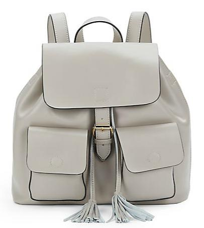 KC JAGGER Morgan Leather Backpack @ Saks Off 5th