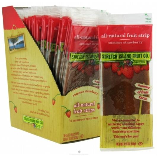 $8.58 Stretch Island Original Fruit Leather, Summer Strawberry, 0.5-Ounce Bars (Pack of 30)