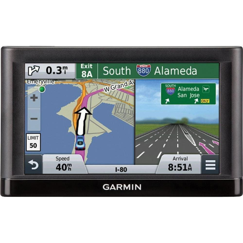 "$77.99 Garmin nüvi 55LM 5"" GPS with Lifetime Map Updates"