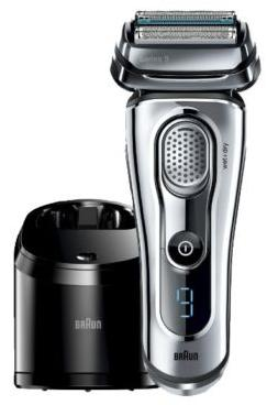 $249.99 BRAUN SERIES 9 9095CC WET AND DRY MEN'S ELECTRIC SHAVER SILVER