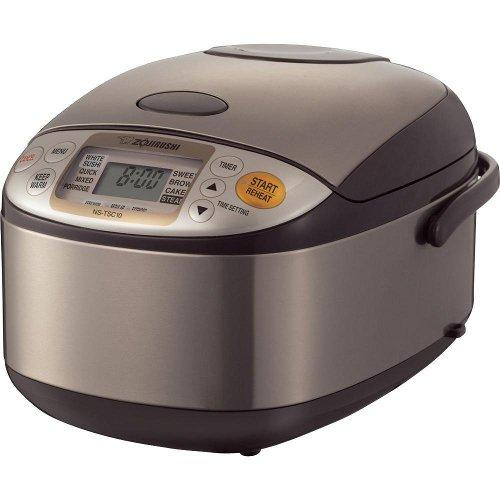 Zojirushi NS-TSC10 5-1/2-Cup Micom Rice Cooker and Warmer
