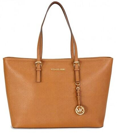 MICHAEL KORS Jet Set Travel Saffiano Leather Tote @ JomaShop.com