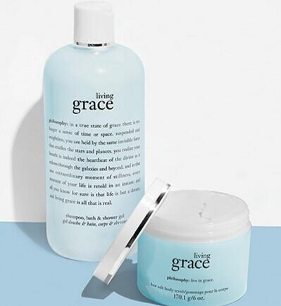 Free living grace duo with any $60 Purchase @ philosophy
