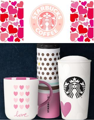 From $12.5 Valentine's Day Collection @ Starbucks