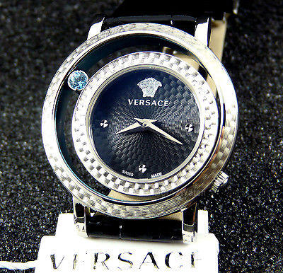 Lowest price! $339.99 Today only! Versace Women's Venus Stainless Steel and Topaz Watch