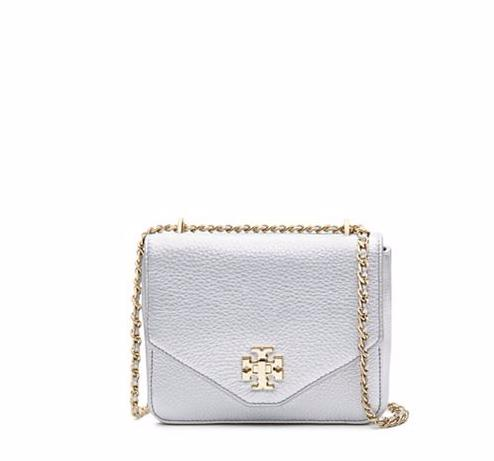 KIRA METALLIC MINI CHAIN CROSS-BODY @ Tory Burch