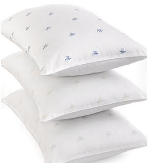 $8 Lauren Ralph Lauren Logo Pillows @ macys.com