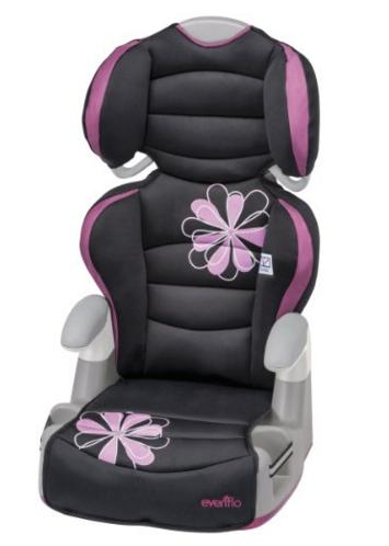 Evenflo Amp High Back Booster Car Seat, Carrissa @ Amazon