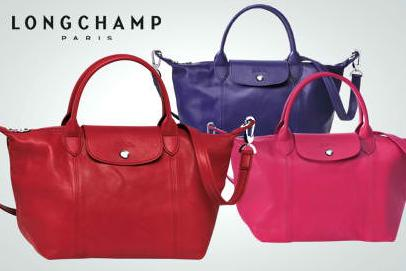Up to $100 bMoney Gift Card with Longchamp Handbags @ Bloomingdales