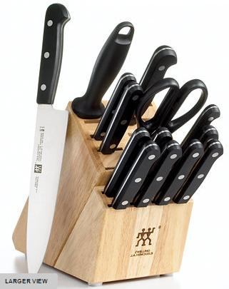 Zwilling J.A. Henckels Knife Block Set, 15 Piece Twin Gourmet