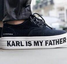 ELEVEN PARIS Karl Is My Father Platform Sneakers @ Saks Off 5th
