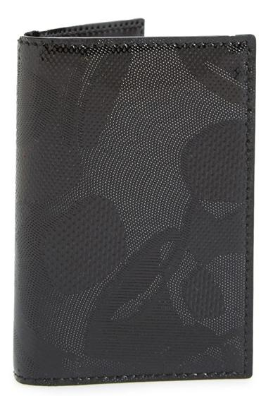 Alexander McQueen Skull Patent Leather Pocket Organizer On Sale @ Nordstrom
