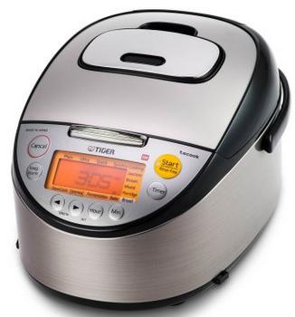 Tiger JKT-S10U-K 5.5-Cup Induction Heating Rice Cooker and Warmer