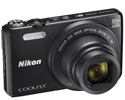 Refurbished Nikon COOLPIX S7000 16MP 1080p Wi-Fi Digital Camera w/ 20X Optical Zoom