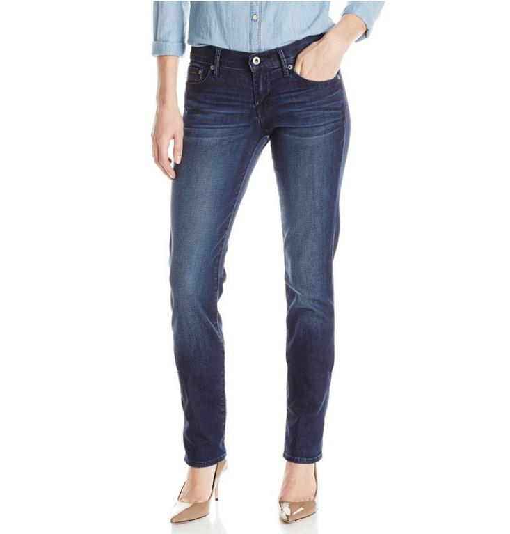 $26.84 Lucky Brand Women's Sweet Straight-Leg Jean In Cats Eye