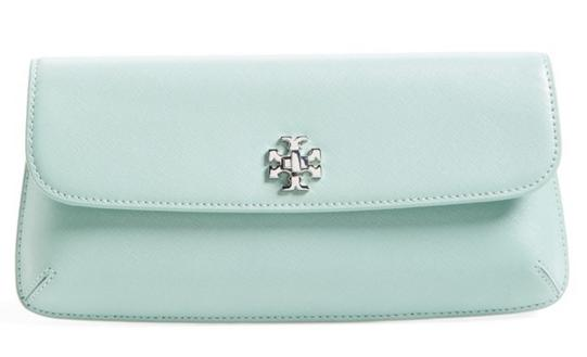 Tory Burch 'Slim Diana' Leather Flap Clutch On Sale @ Nordstrom